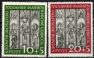 Germany #B316-7 F-VF Unused CV $56.00 (X970)