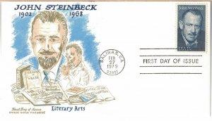 #1773, 15c John Steinbeck, Doris Gold cachet