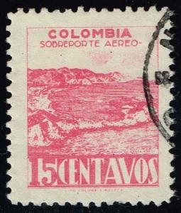 Colombia #C136 Bay of Santa Maria; Used (0.25)