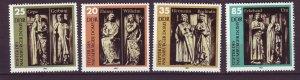 J24502 JLstamps 1983 germany DDR set mnh #2355-8 statues