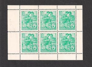 GERMANY - DDR SC# 477b VF MNH 1959