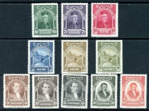 ECUADOR Reg and Air Mail MNH 11 different stamps