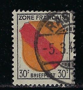 Germany - under French occupation - Scott # 4N10, used