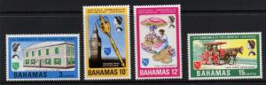 BAHAMAS SG323/6 1968 COMMONWEALTH PARLIAMENTARY CONFERENCE MNH