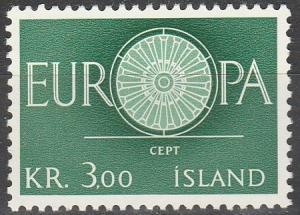 Iceland #327 MNH F-VF (SU3192)