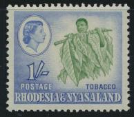 Rhodesia & Nyasaland SG 25 Sc# 165  MNH see details