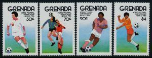 Grenada 1361-4 MNH World Cup Soccer