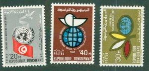 Tunisia 422-24 MH BIN $1.45
