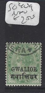 INDIA GWALIOR  (PP2410B)  QV  1/2A   SG 30G   VFU