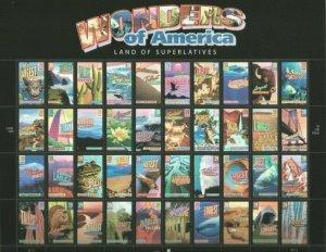 MALACK 4033 - 72, 39c Wonders of America,  Sheet, ST..MORE.. stock4033-72