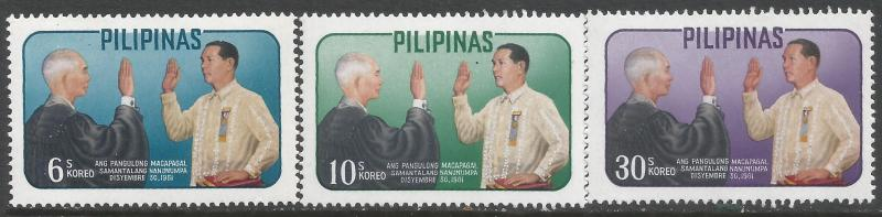 PHILIPPINES 865-67 MNH Z4196-5
