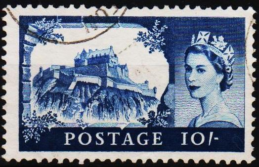 Great Britain.1959 10s S.G.597 Fine Used