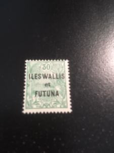 Wallis + Futuna Islands sc 16 MH