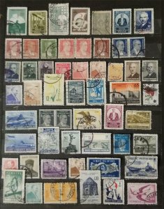 TURKEY Early Stamp Lot Used T2782