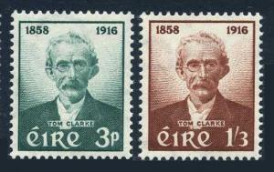 Ireland 165-166,MNH.Michel 136-137. Thomas J.Clarke,1859-1916,patriot.