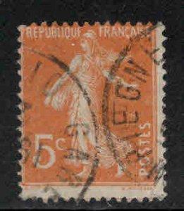 FRANCE Scott 160 Used  sower stamp