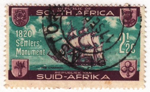 South Africa, Scott #  282, Used