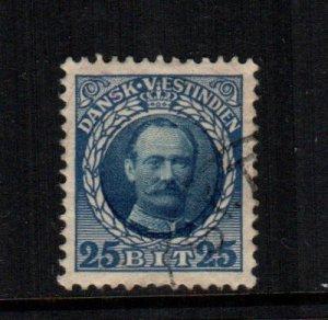 Danish West Indies  47  used  Cat $ 2.50