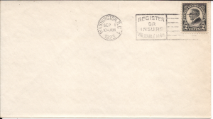 US#610 Black - First Day Cover