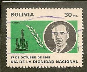 Bolivia      Scott  RAC1     President, Oil      Used