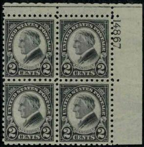 MALACK 612 VF/XF OG NH, very well centered for this ..MORE.. pb2324