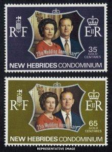 New Hebrides British Scott 169-170 Mint never hinged.