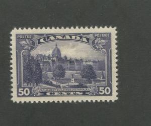 Parliament Building Victoria 1935 Canada 50c Stamp #226 Scott $27
