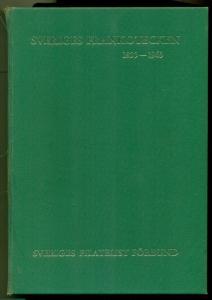 SWEDEN HANDBOOK Sveriges Frankotecken 1855-1963 - 3 vols w/hardcovered sleeve