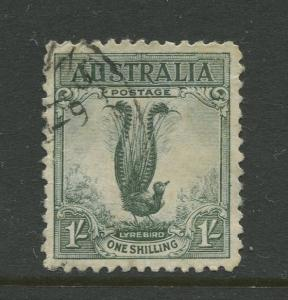 7STAMP STATION PERTH Australia #141 Male Lyrebird Issue Used CV$5.00.