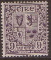 Ireland 9d opt SG70 used