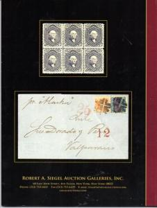 Siegel Auction of US and Confederate Stamps and Covers