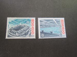 Monaco 1987 Sc 1563-4 set MNH