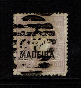 Madeira SC# 27, Used, tiny pinhole, minor toning - S329