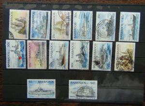 Barbados 1994 Ships set to $10 Used
