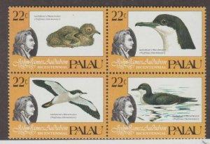 Palau Scott #66a Stamps - Mint NH Block of 4