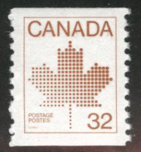 Canada Scott 951 MNH** coil stamp