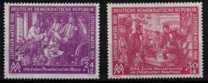 East Germany (DDR) - SGE7-E8 mint, Leipzig spring fair - CV £26.50 ($33.90)