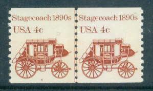 1898A Fine MNH Dry Gum CNP Left 4 W0490