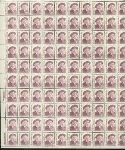 Pane of 100 USA Stamps 2177b American Scout Buffalo Bill Brookman Price $250