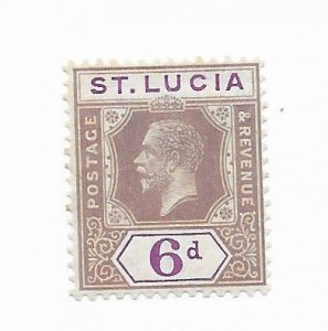 St. Lucia #86 MH - Stamp - CAT VALUE $2.25