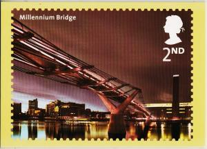 Great Britain. 2002 Bridges of London. PHQ Cards(5) Unused