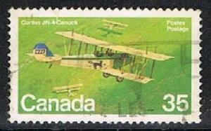 CANADA 1702111 - 1980 Military Aircraft used single