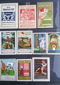World Exhibition, Convention, Stamp Show, Poster, Label stamp Collection LOT#Q10