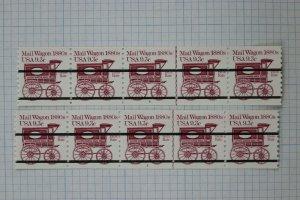 US Sc# 1903a PNCLP5 MNH #3 #4 coil line pair precancel