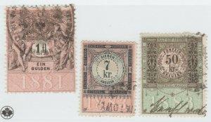 Austria Cinderella Revenue Fiscal stamp 9-19-21 as seen- 4g