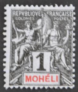 DYNAMITE Stamps: Moheli Scott #1 – UNUSED