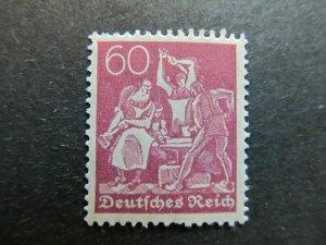 A4P8F69 Germany 1921 Wmk Lozenges 60pf mh*