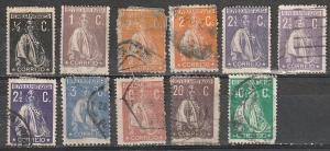 Portugal Used lot of 11