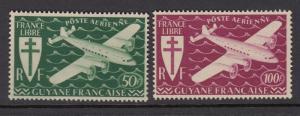 French Guiana C9-10 mnh
