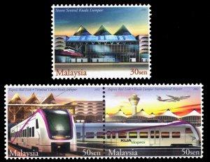 Malaysia 2002 Scott #870-871 Mint Never Hinged